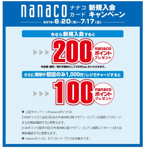 nanaco%e3%82%ad%e3%83%a3%e3%83%b3%e3%83%9a%e3%83%bc%e3%83%b3